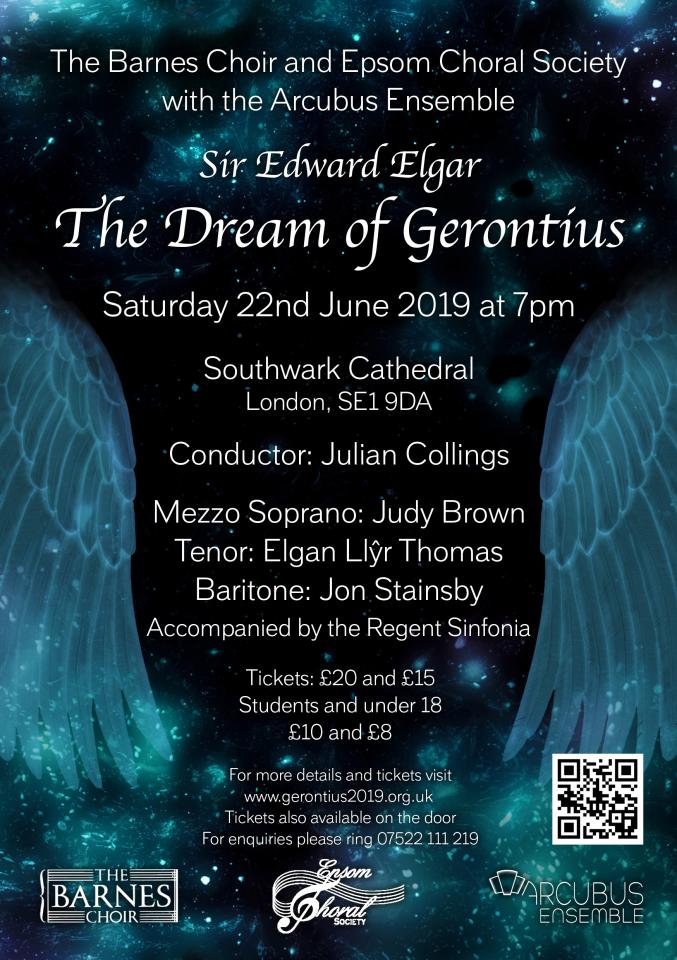 Barnes Choir Summer 2019 - Dream of Gerontius